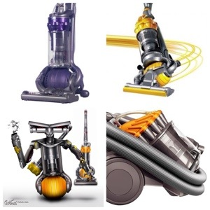 Dyson - Brand that uses design to differentiate